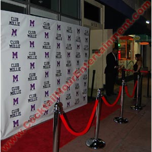red carpet photo custom step & repeat